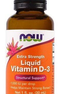 Vloeibare vitamine d3 1000 Now