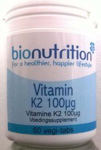 Vitamine k2 100 mcg bio nutrition