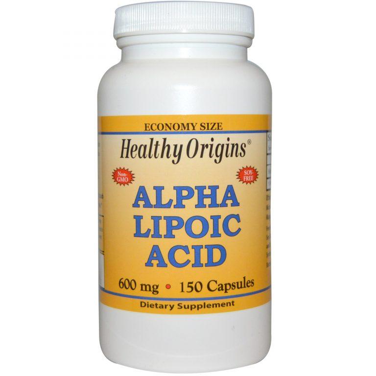 alfa liponzuur 600 mg