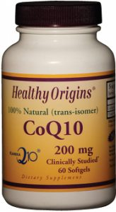 healthy origins co-enzym q10 200 mg
