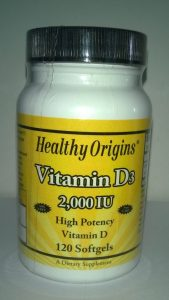 Vitamine D 20000 Healthy Origins