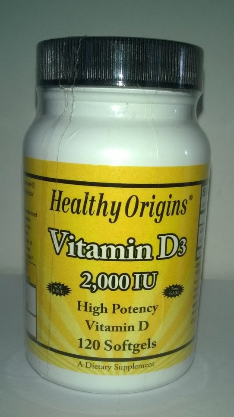 Vitamine D 20000 Healthy Origins